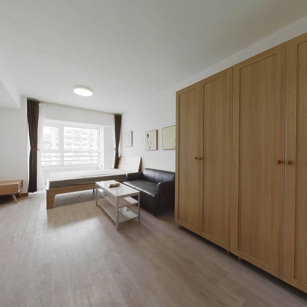 整租·私摩空间 1室1厅 北卧室图
