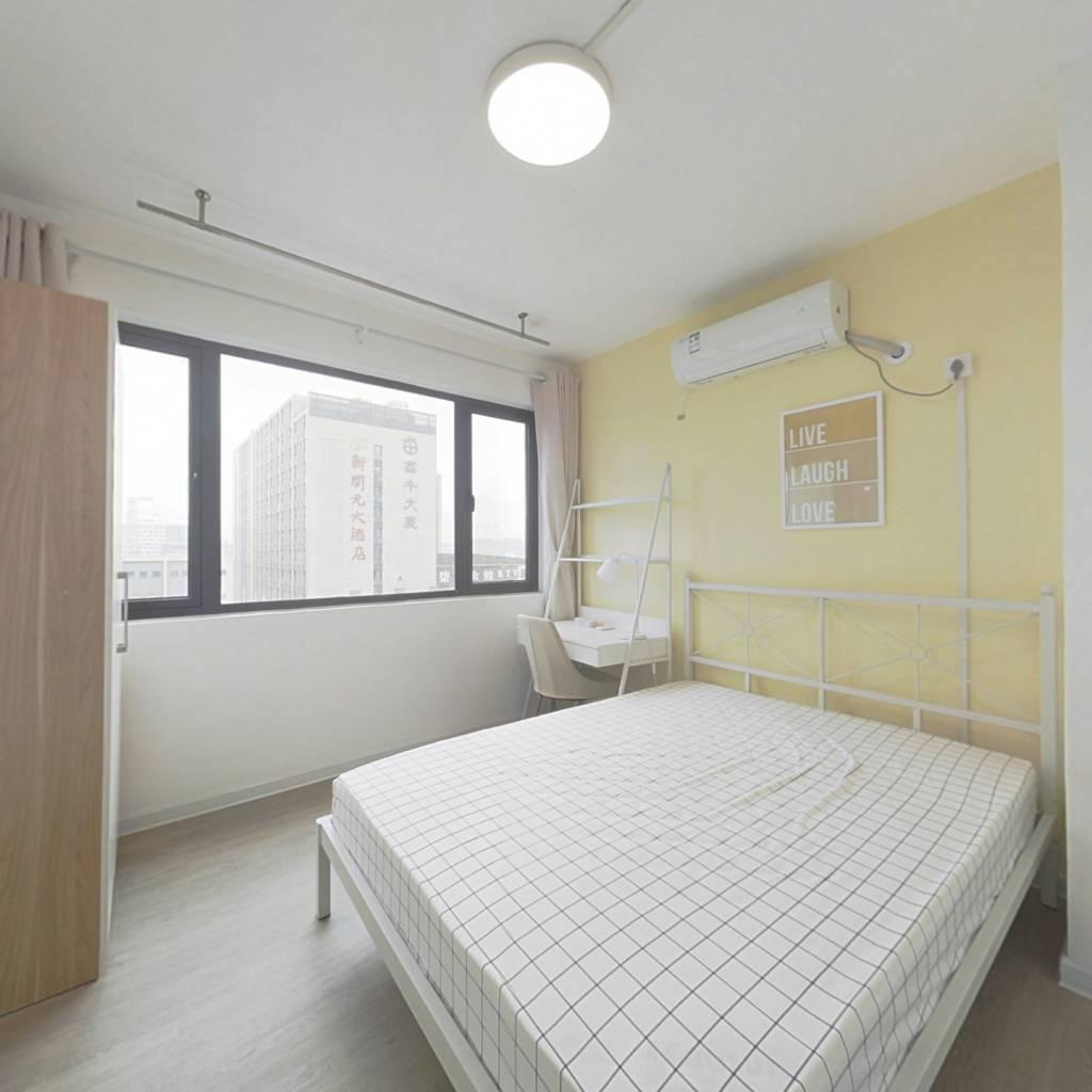 合租·招商武林郡 4室1厅 南卧室图