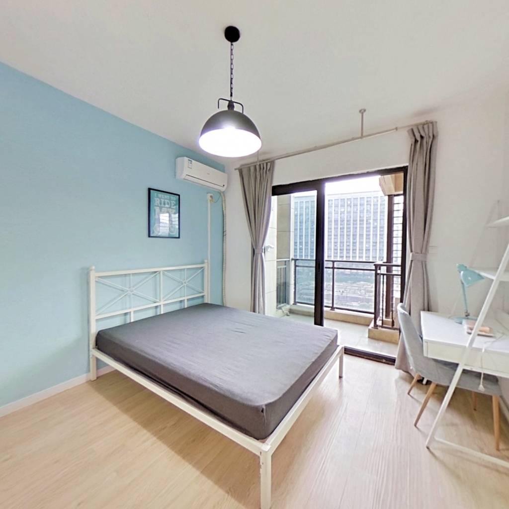合租·越秀星汇尚城 4室1厅 南卧室图