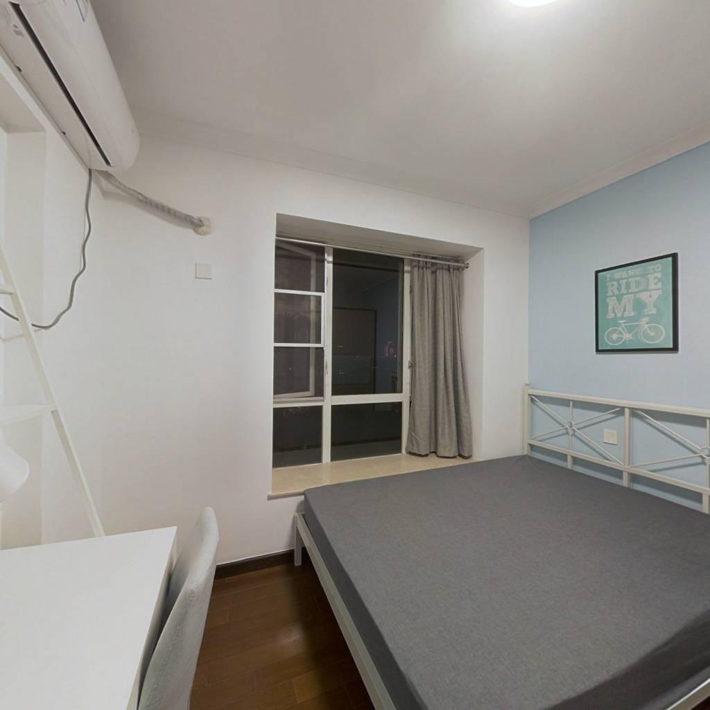 合租·保利花园 3室2厅 南卧室图