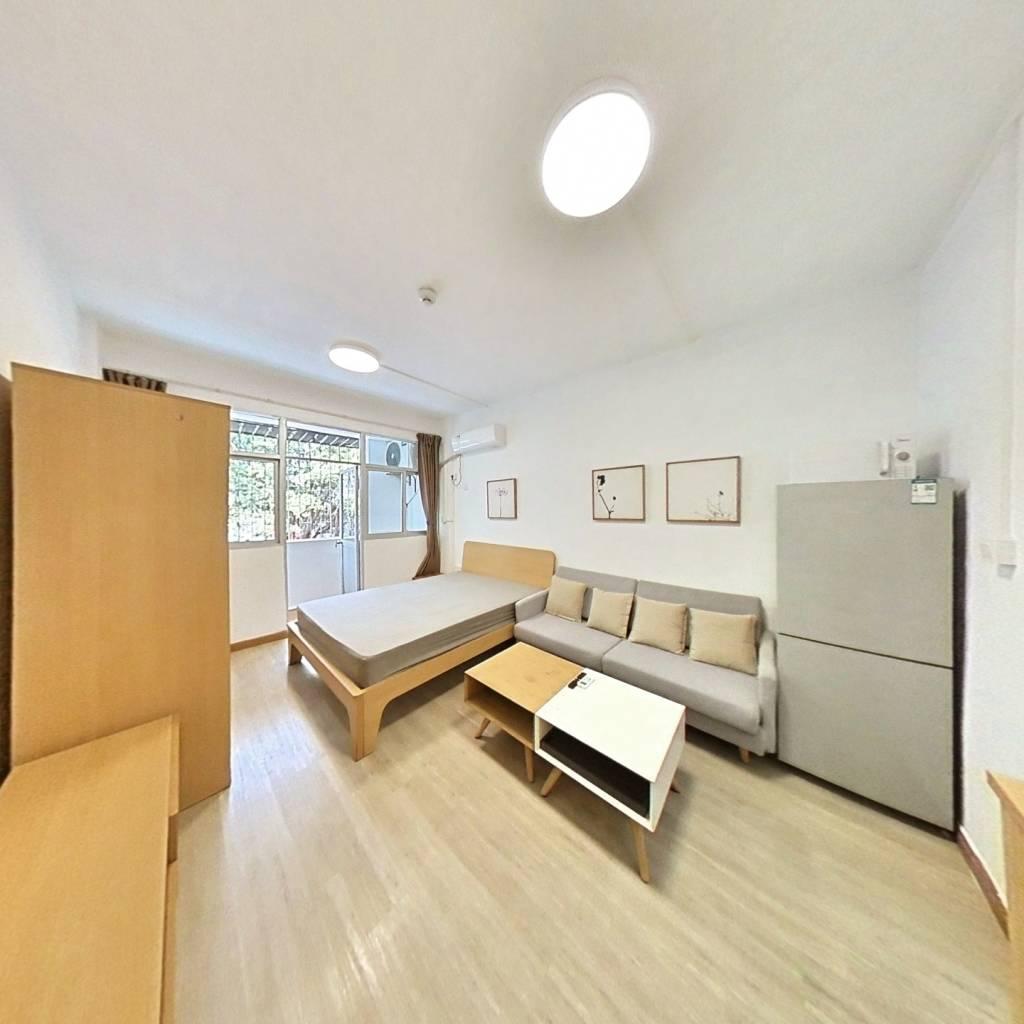 整租·泰然小区 1室1厅 南卧室图