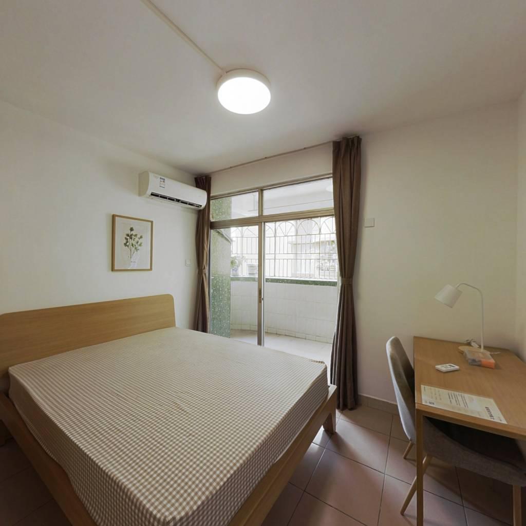 合租·桃源村一期 4室1厅 西卧室图