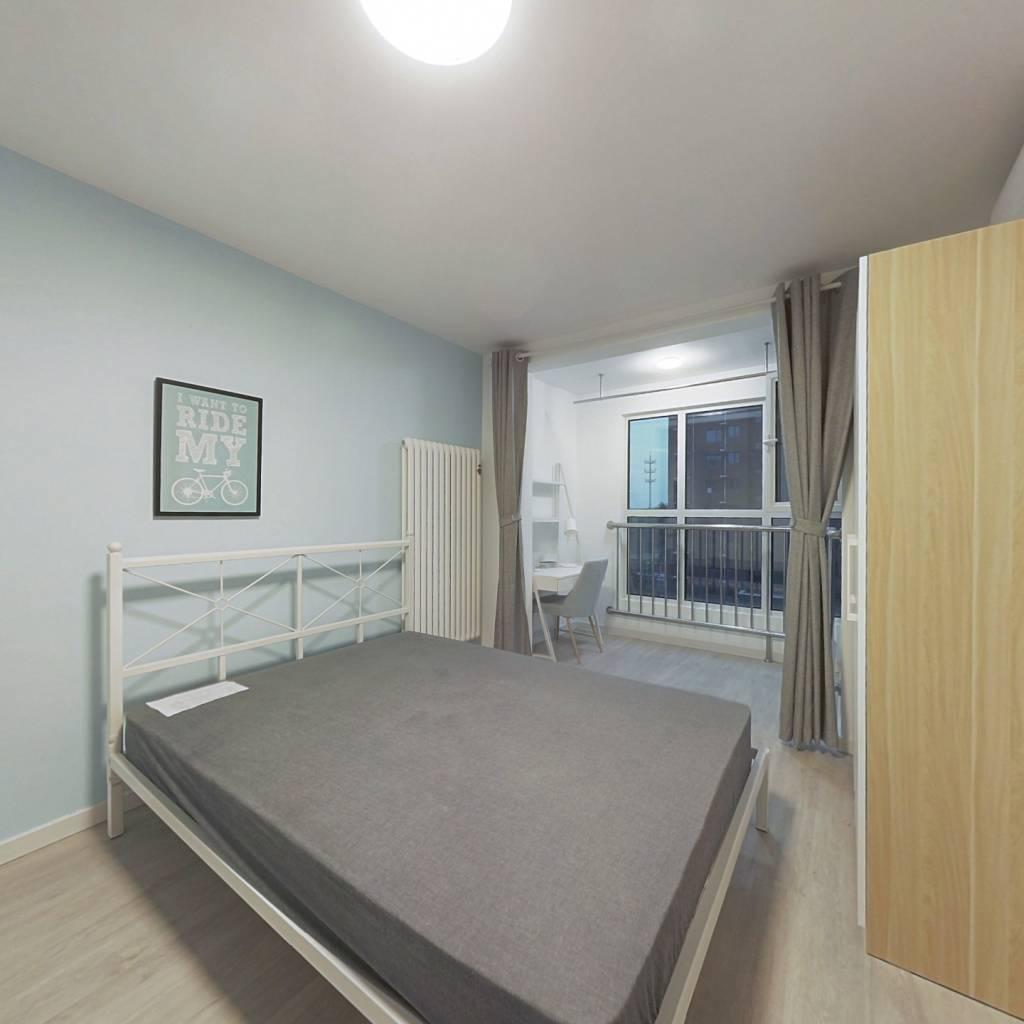 合租·树村丽景苑 3室1厅 南卧室图