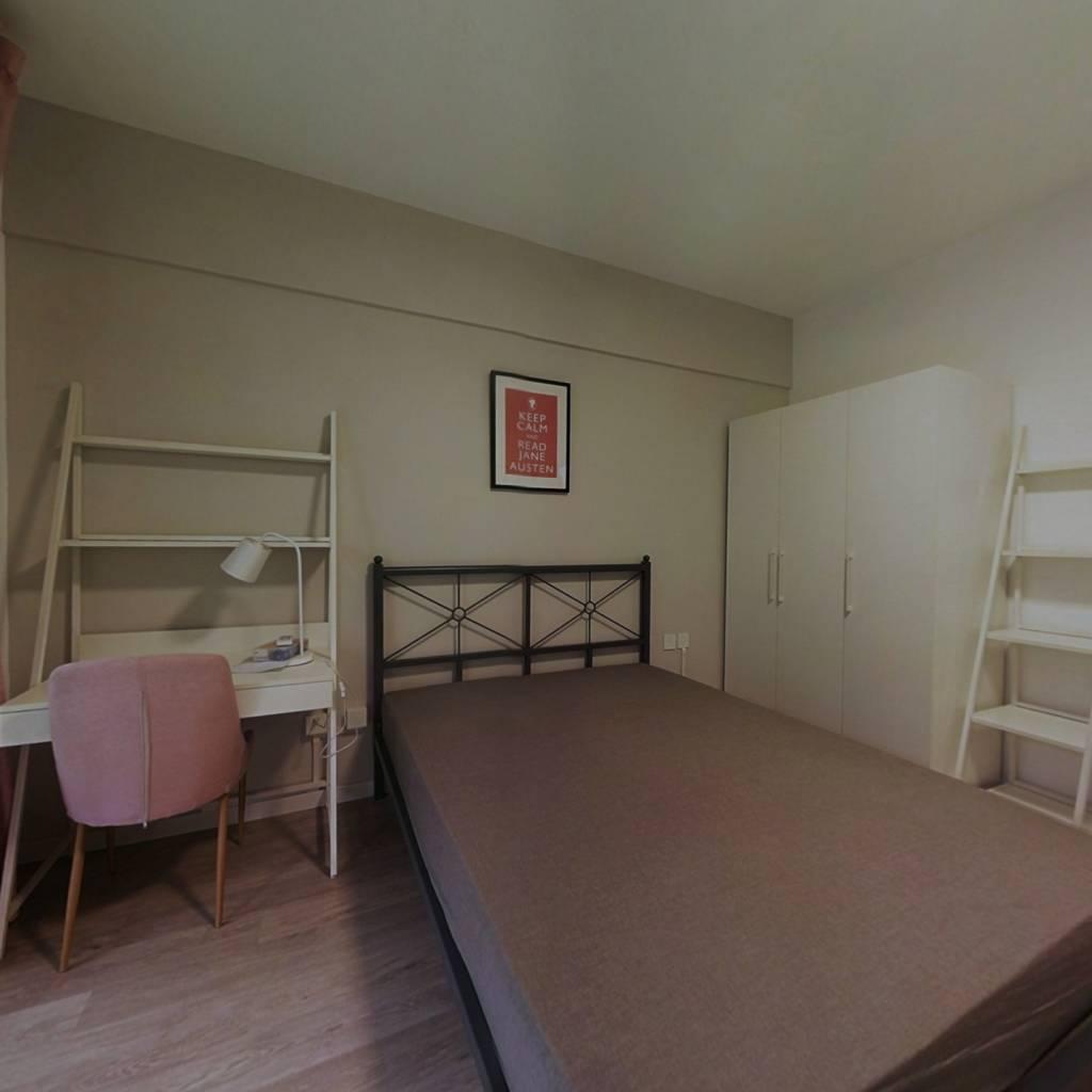 合租·滨湖名都城 3室1厅 东卧室图
