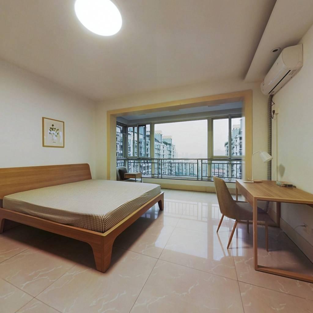 合租·朝阳名宅 4室1厅 南卧室图