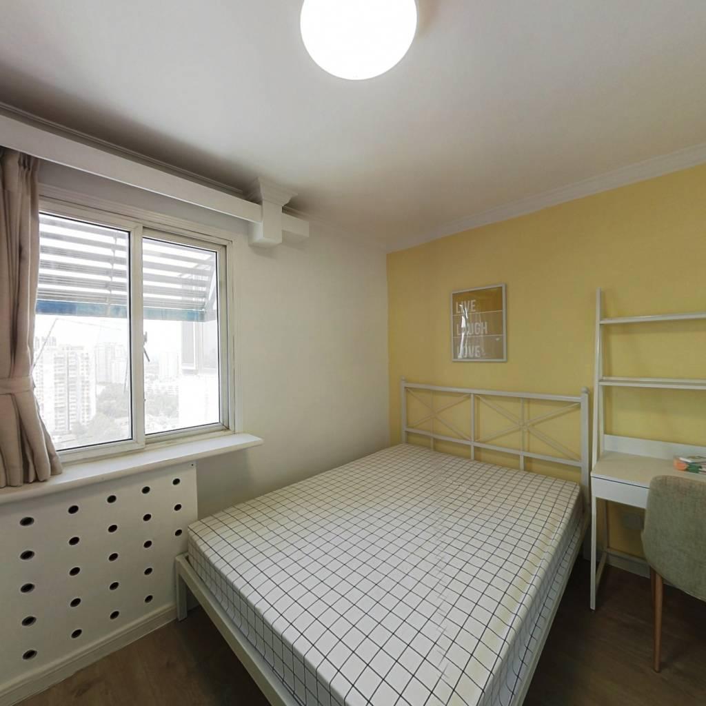 合租·南湖东园二区 3室1厅 南卧室图