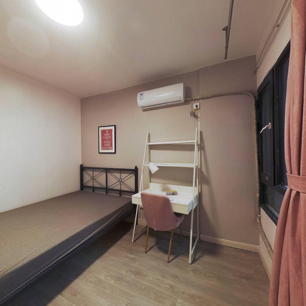 合租·统建新干线 4室1厅 南卧室图