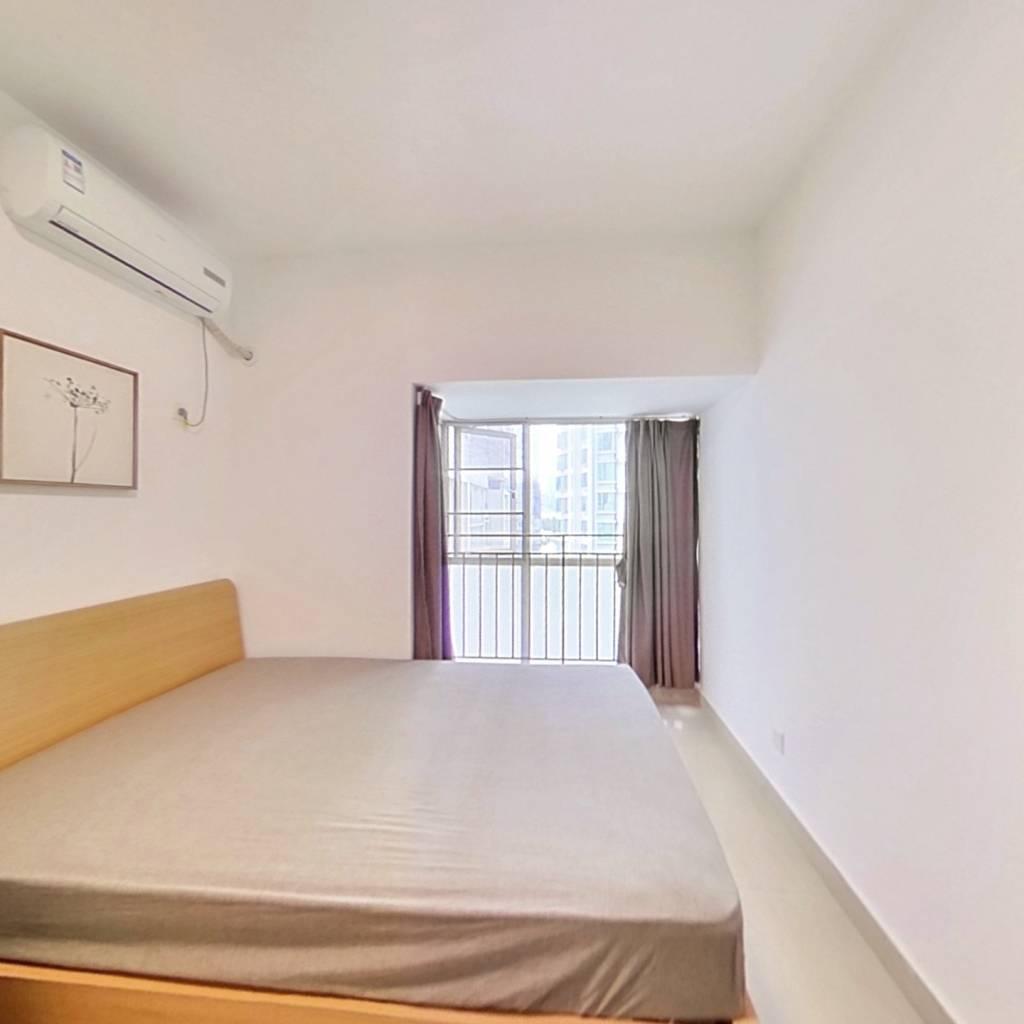 整租·友邻公寓 1室1厅 西北卧室图