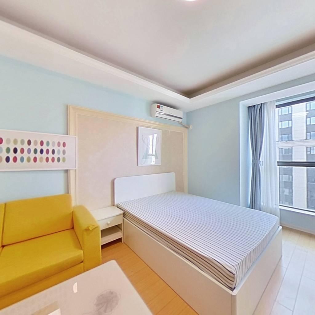 整租·世茂江滨商业中心 1室1厅 南卧室图