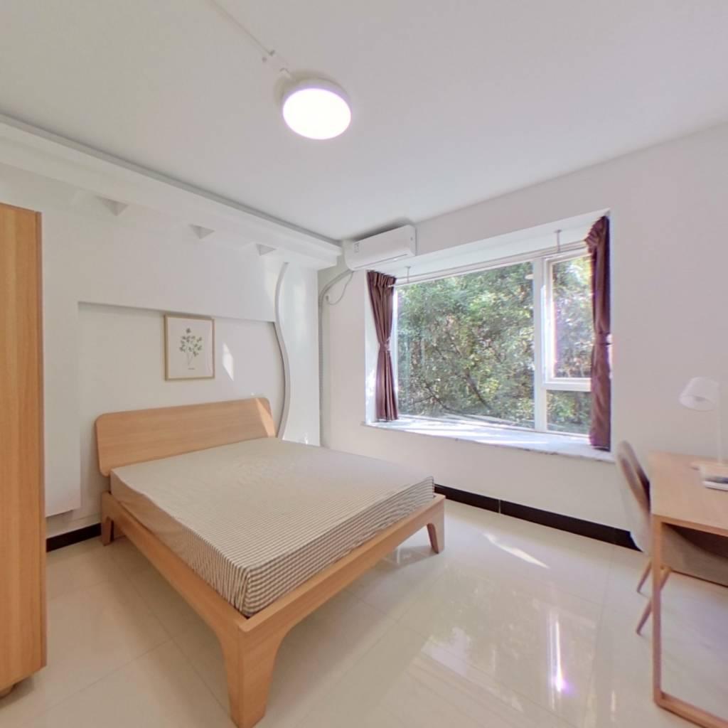 合租·爱家馨城 4室1厅 西北卧室图