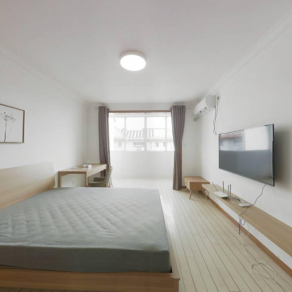 整租·国和一村 1室1厅 南卧室图