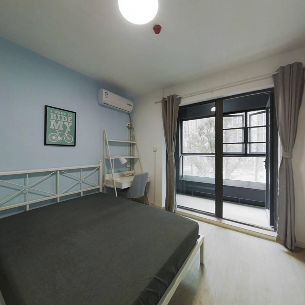 合租·融创公园壹号三期 4室1厅 北卧室图