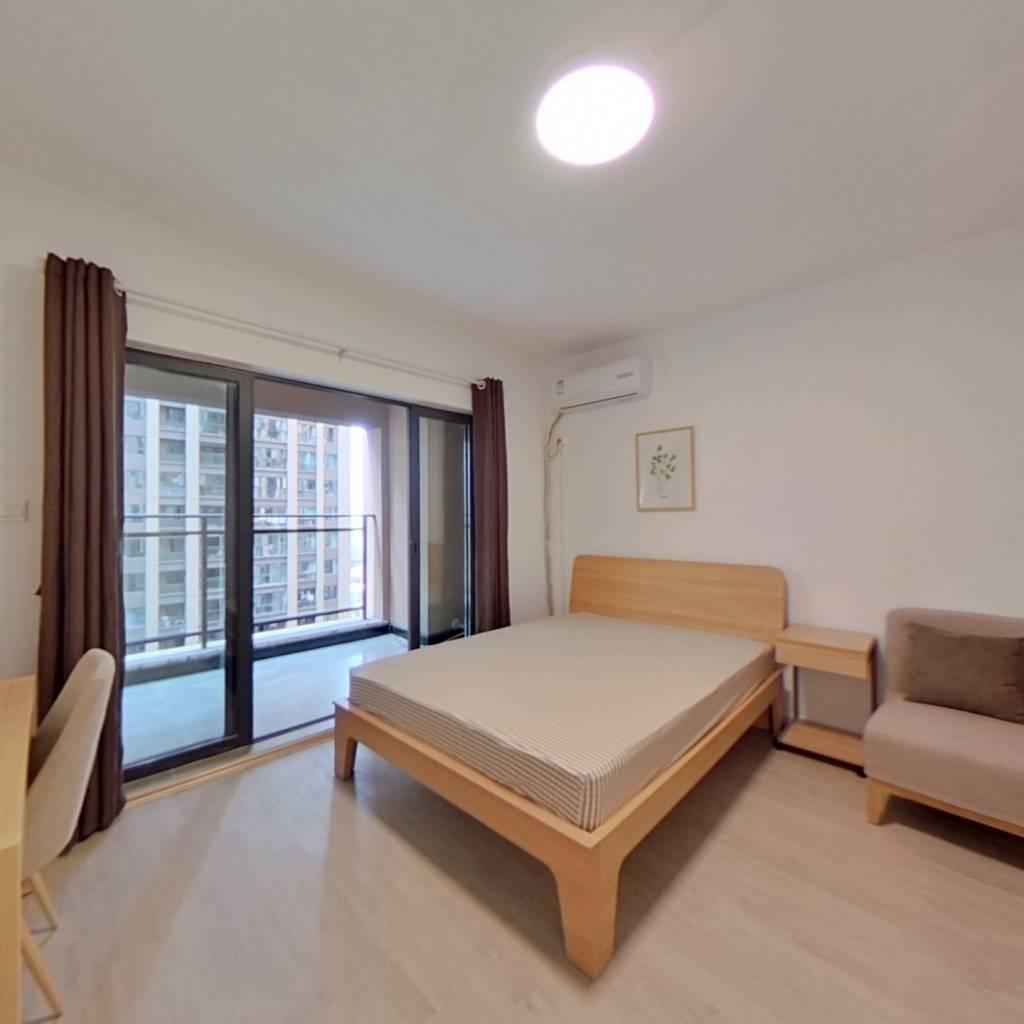 合租·滨江和城 5室1厅 北卧室图