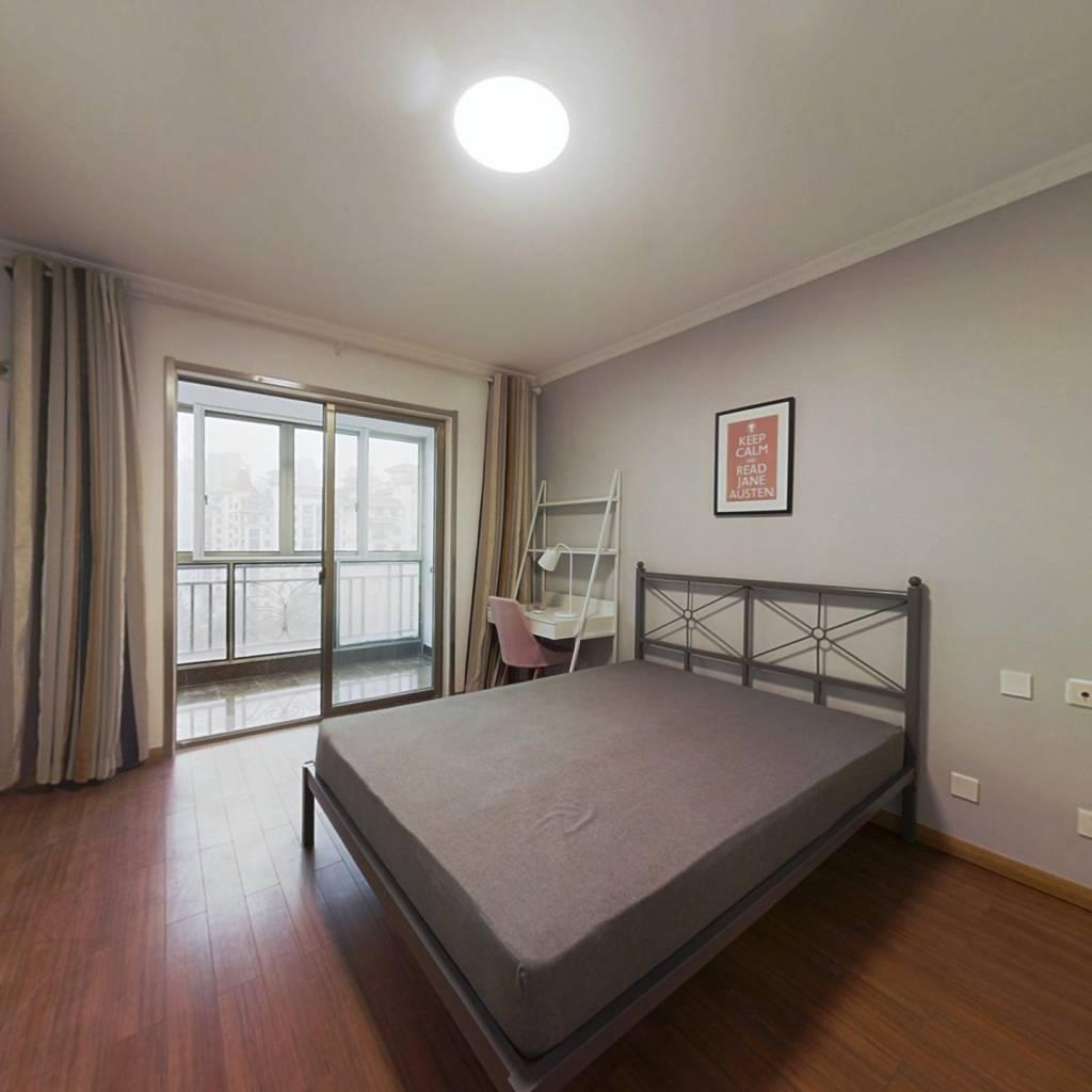 合租·银河湾紫苑 4室1厅 北卧室图