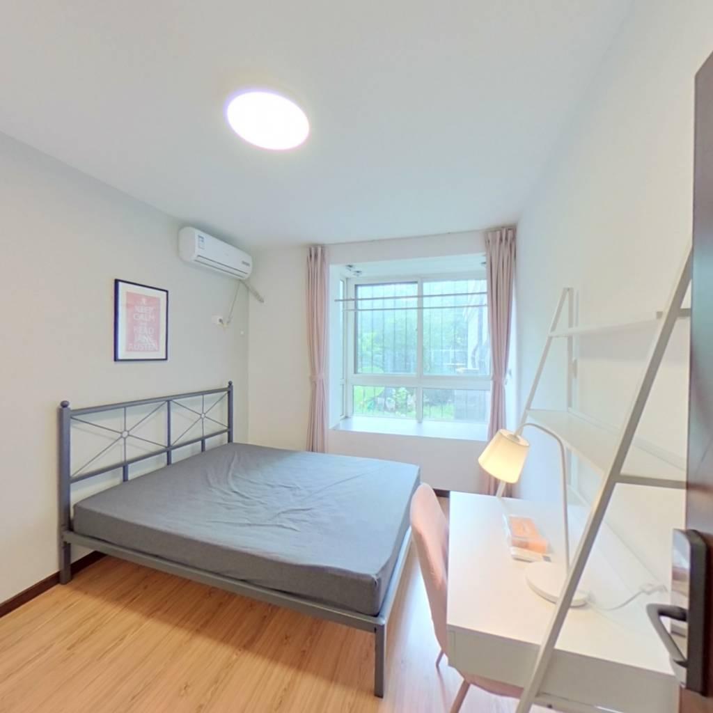 合租·运河明珠 2室1厅 北卧室图