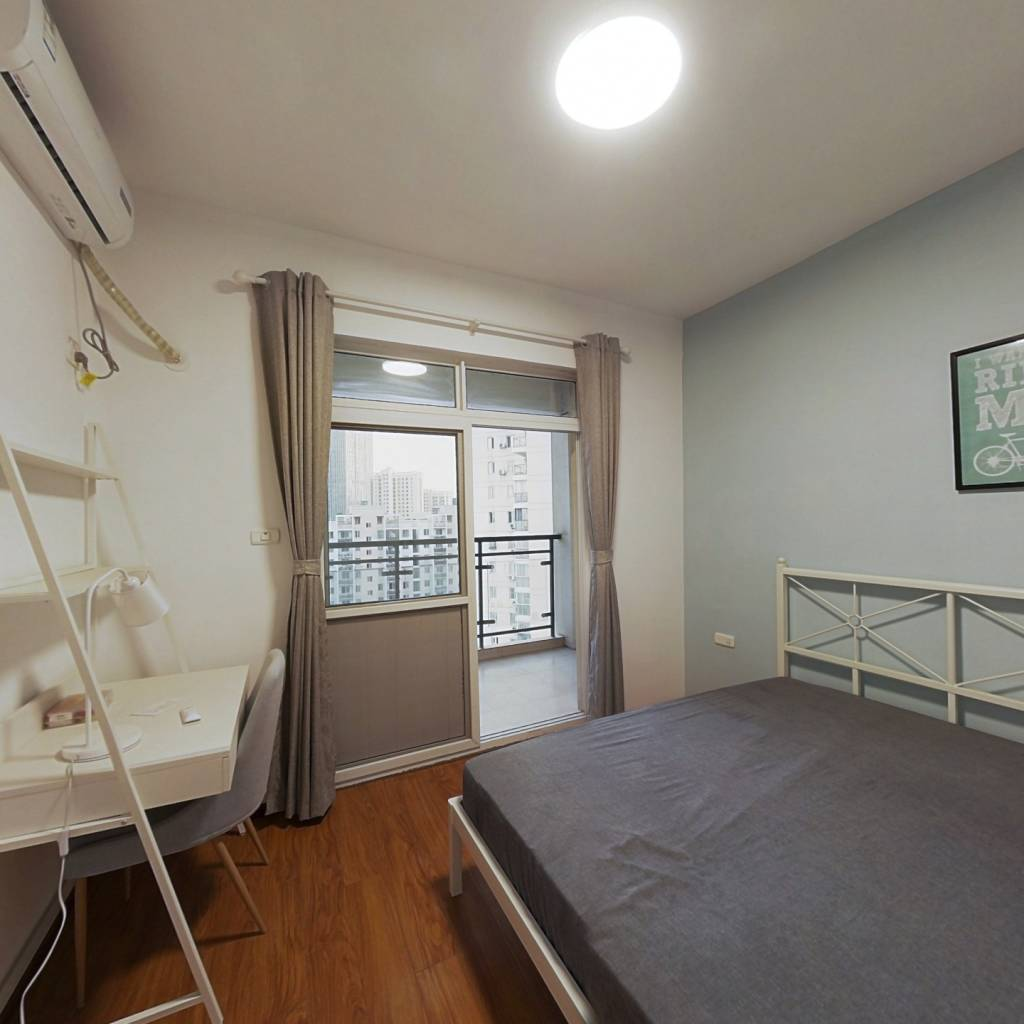 合租·华腾园 4室1厅 北卧室图