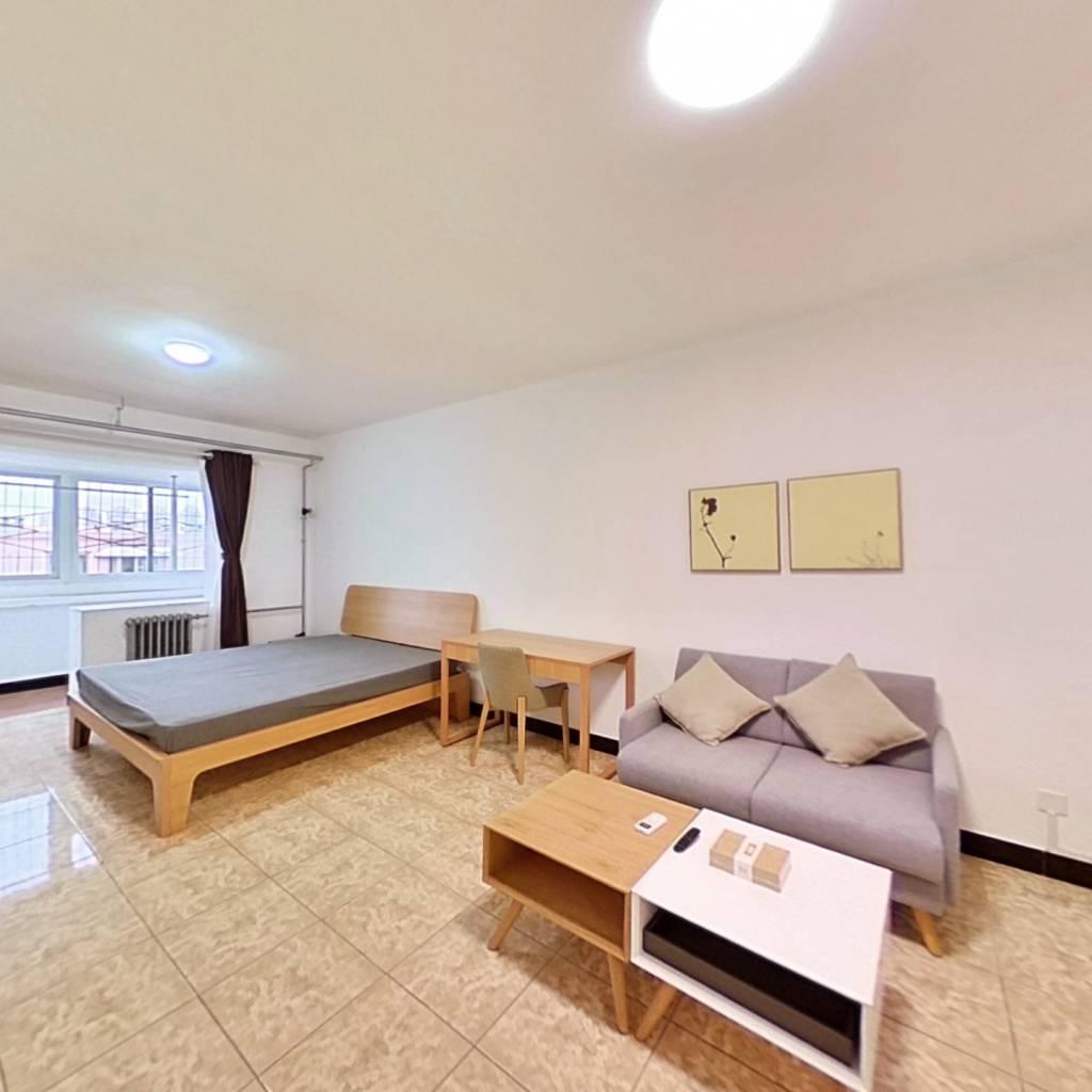 整租·南沙滩小区 2室1厅 南卧室图