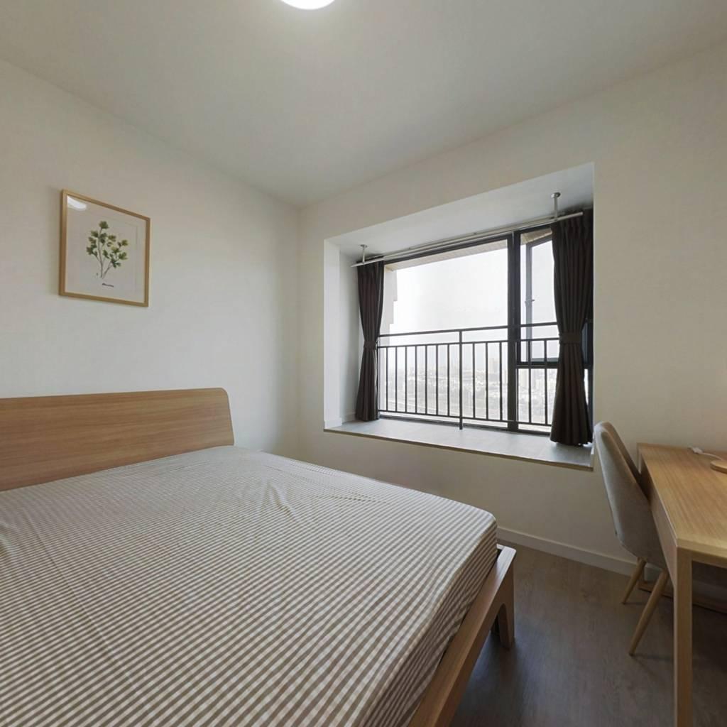 合租·优品尚东三期 4室1厅 西北卧室图