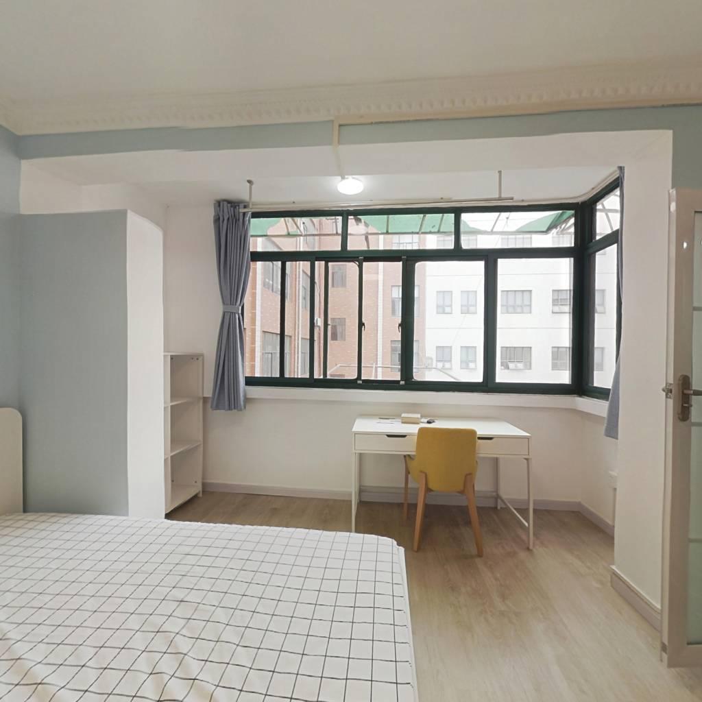 整租·双阳路507号 1室1厅 东南卧室图