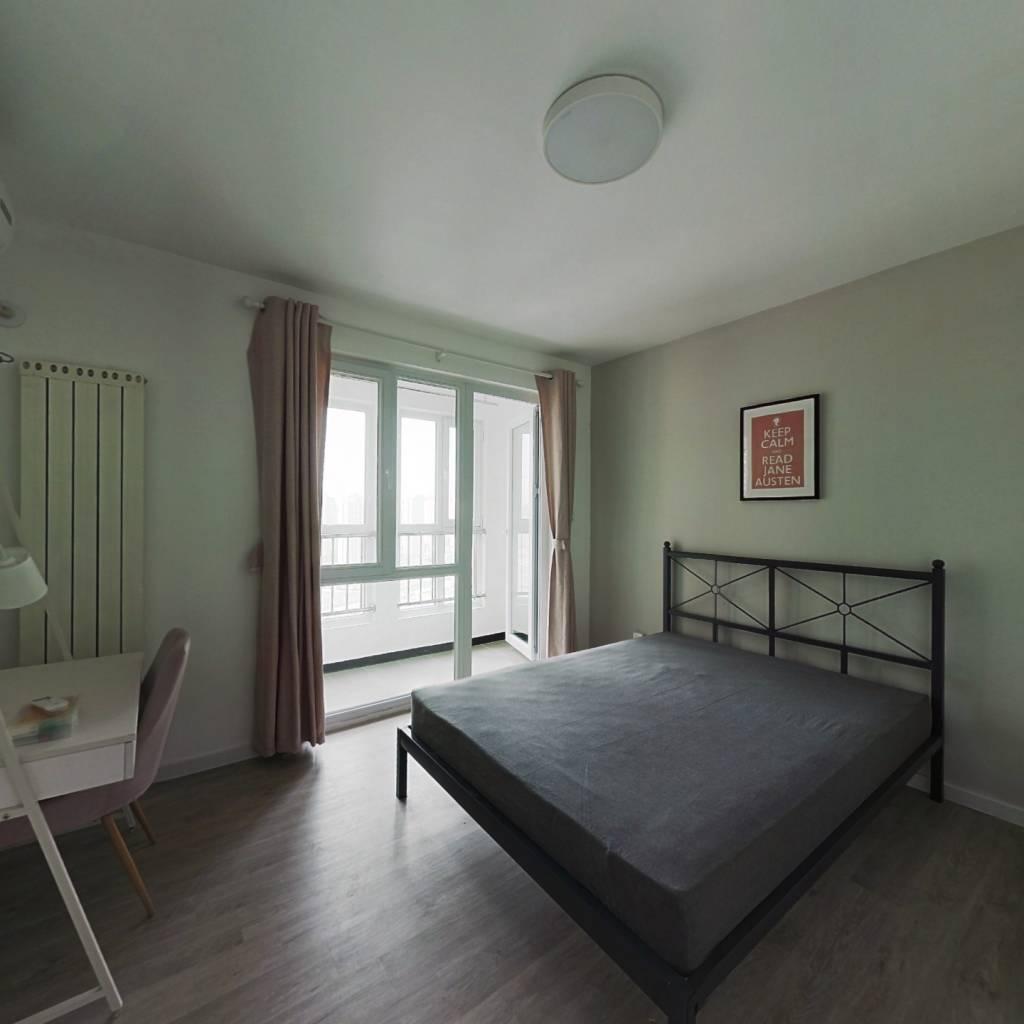 合租·龙瀚南园 3室1厅 南卧室图