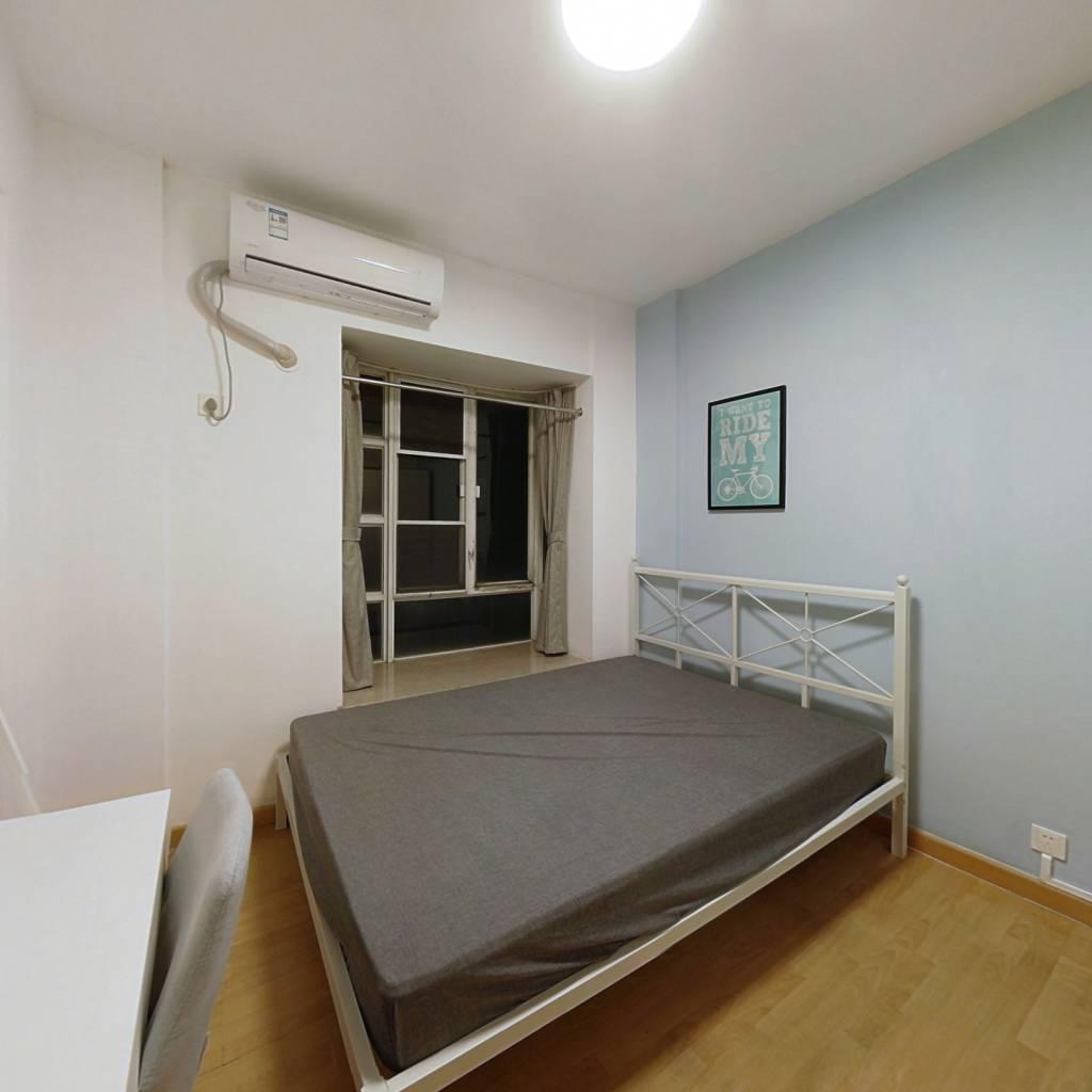 合租·岭南新世界 3室1厅 西卧室图