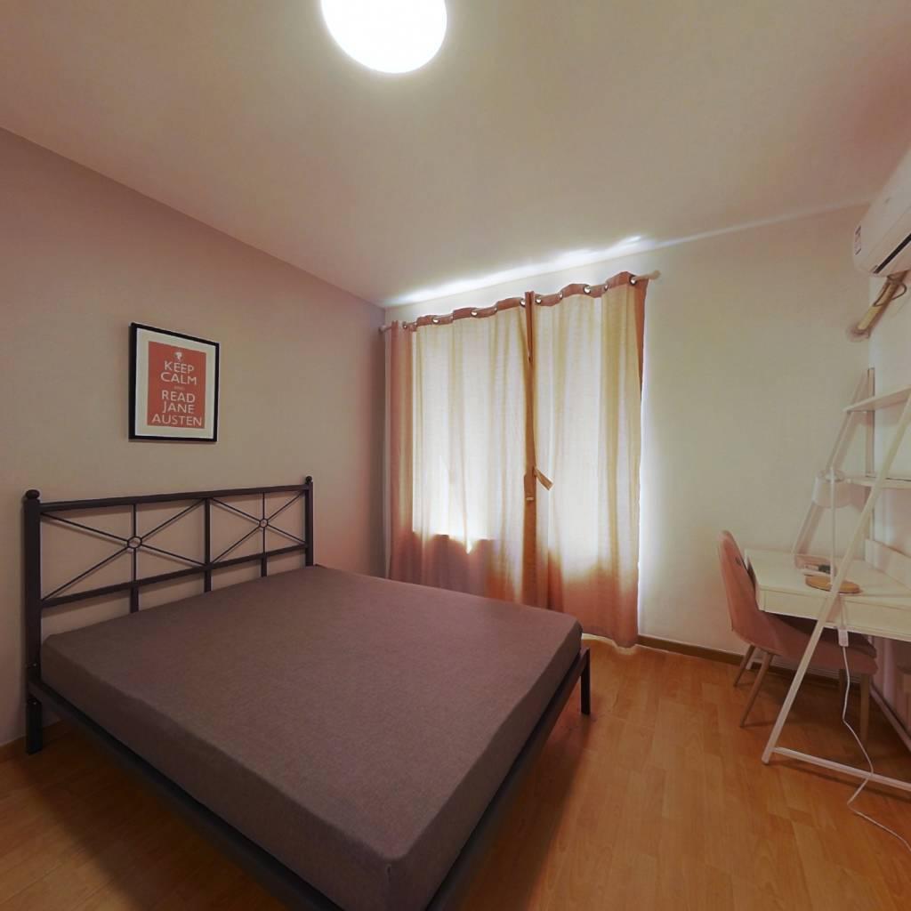 合租·紫逸佳苑 3室1厅 南卧室图