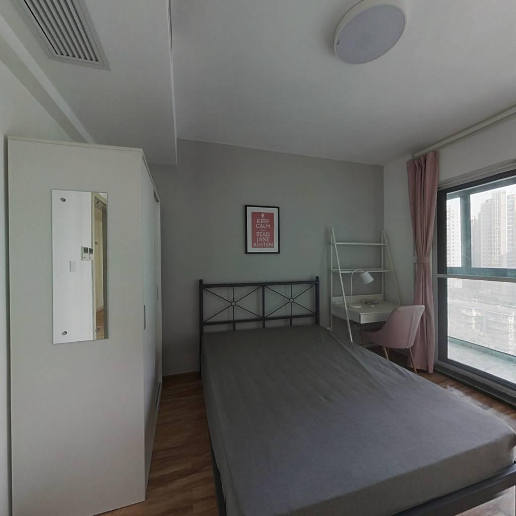 合租·葛洲坝国际广场(江汉) 4室1厅 西卧室图