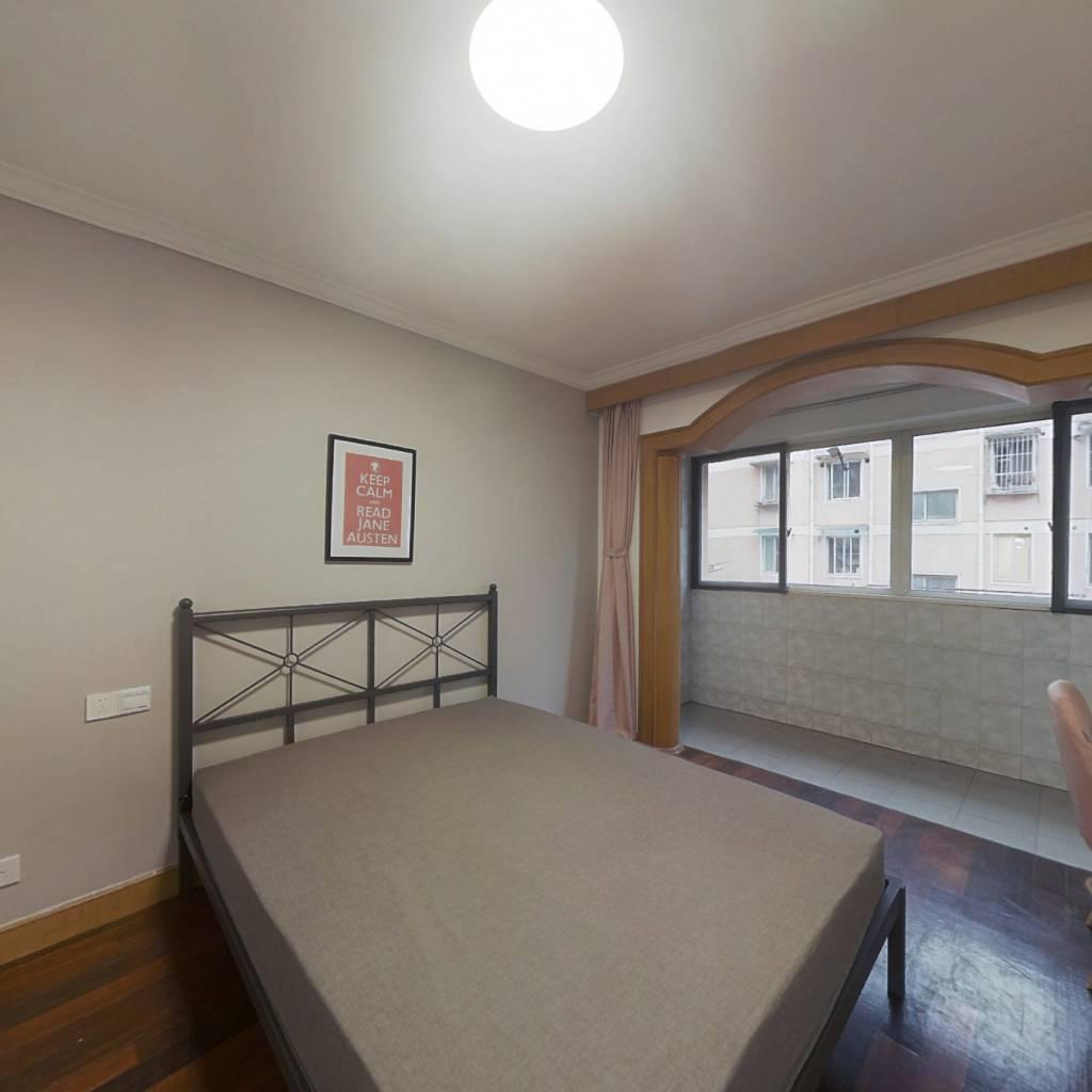 合租·市政馨苑 3室1厅 北卧室图