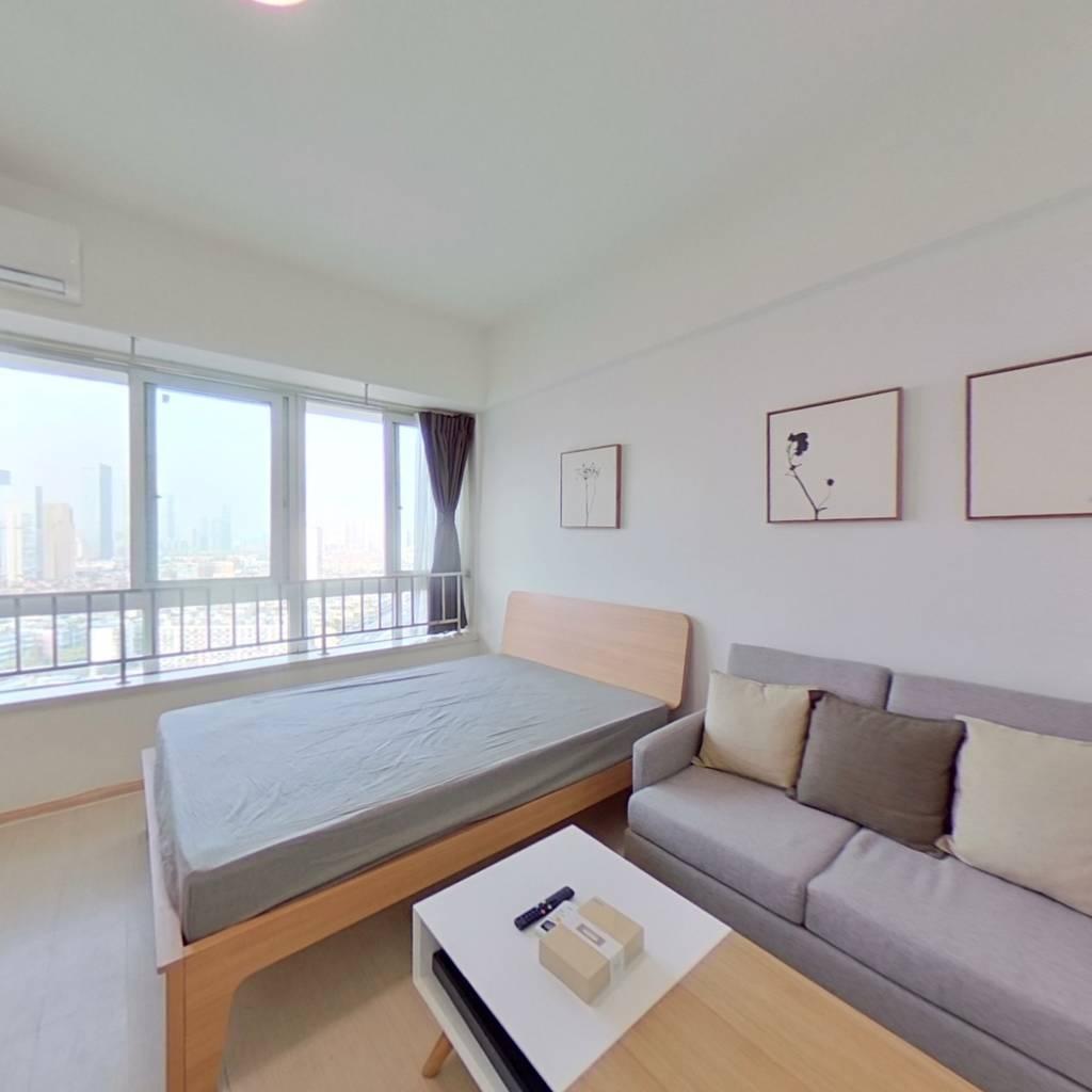 整租·万达锦华城 1室1厅 北卧室图