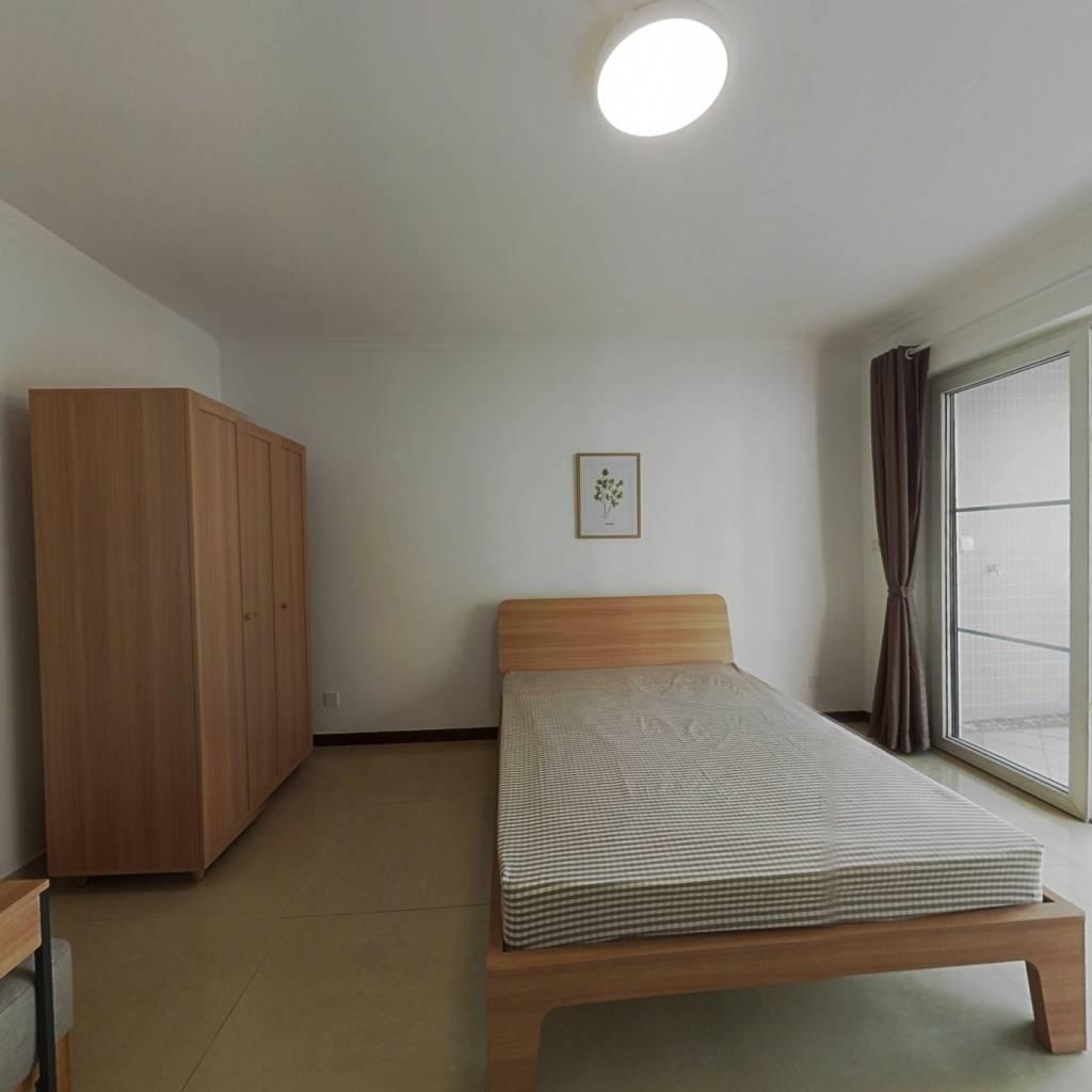 合租·华景新城陶然庭园 5室1厅 西卧室图