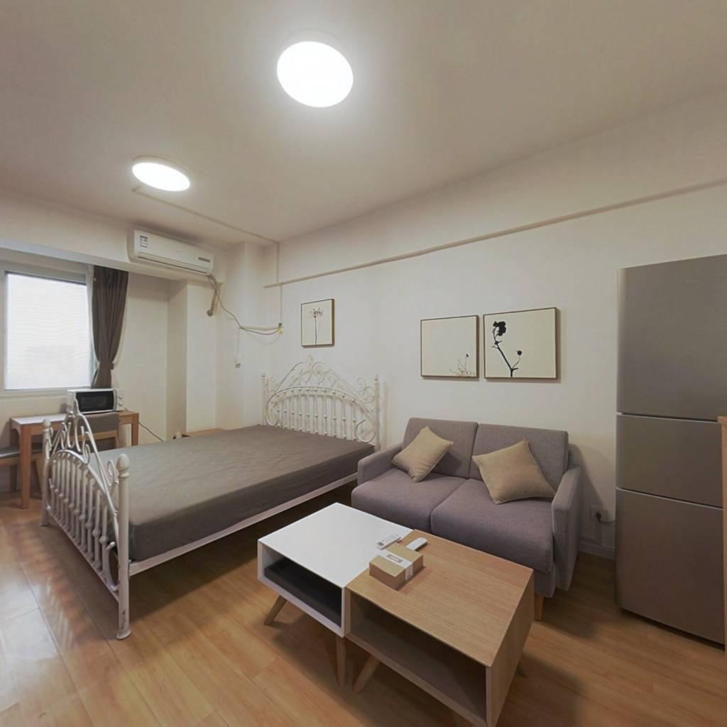 整租·南方花园瑞阳居 1室1厅 西卧室图