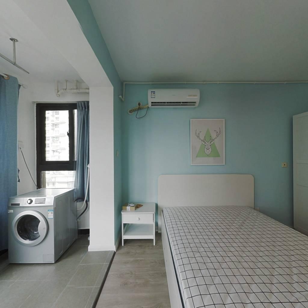 整租·中福浦江汇 1室1厅 南卧室图
