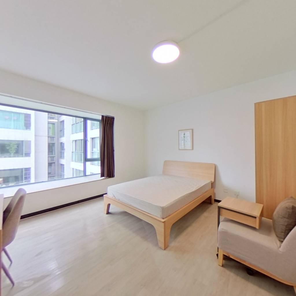 合租·东苑B区 4室1厅 西卧室图