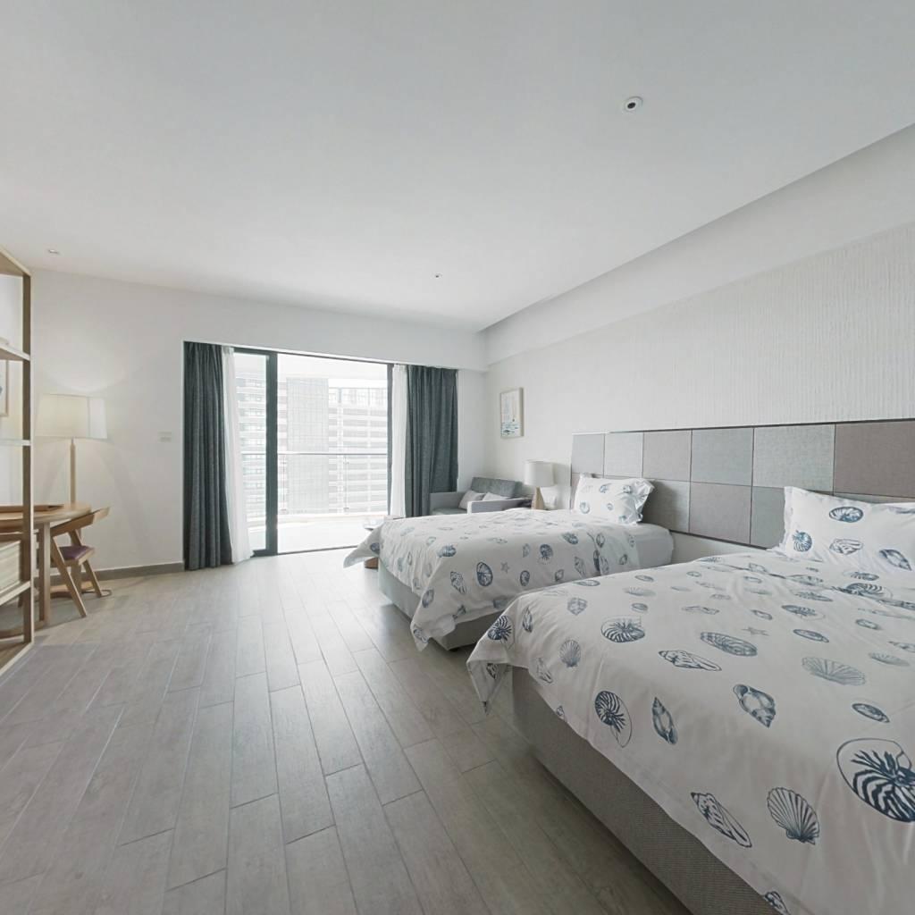 此房楼层好。带反租。按每季度反租。酒店托管式管理