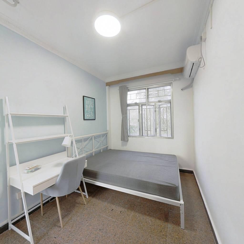 合租·景贝南小区 4室1厅 北卧室图