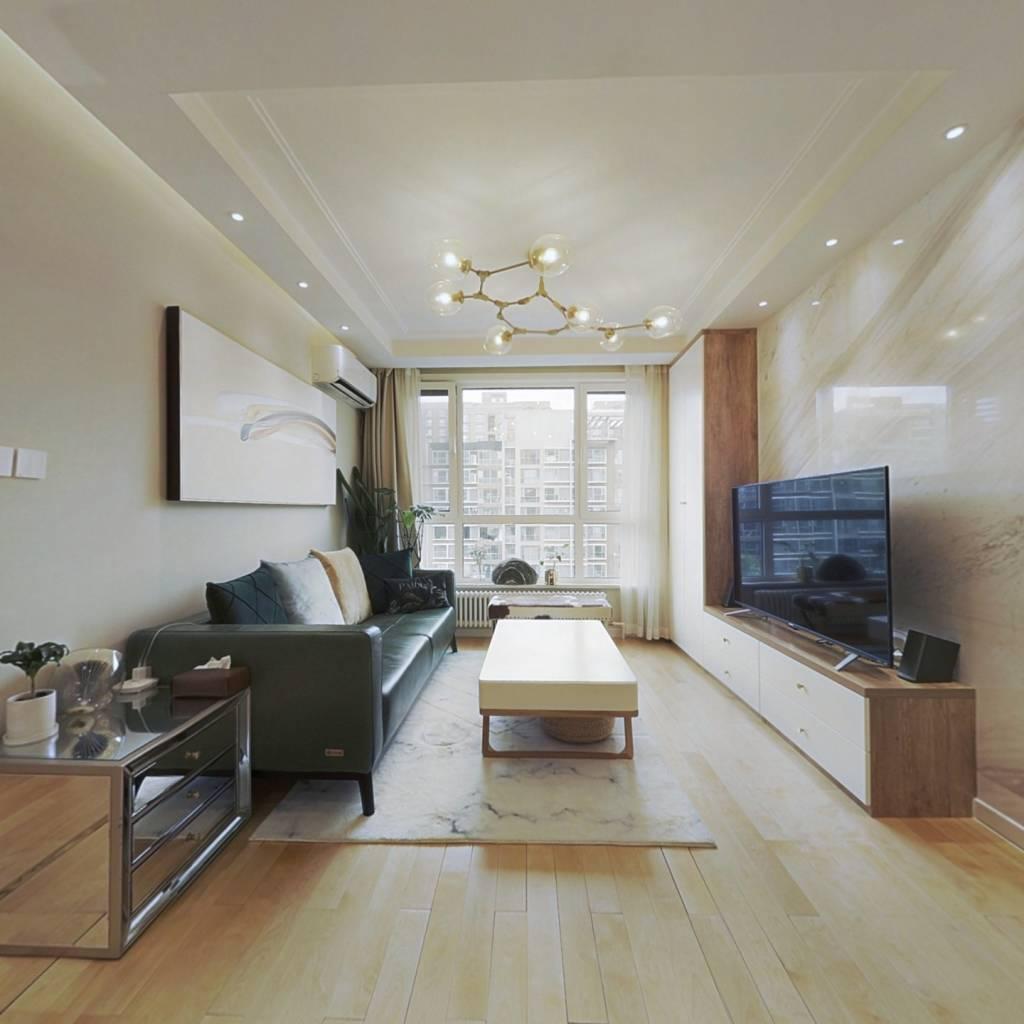 正观小区花园 50万装修 正规一室一厅 适合多贷款