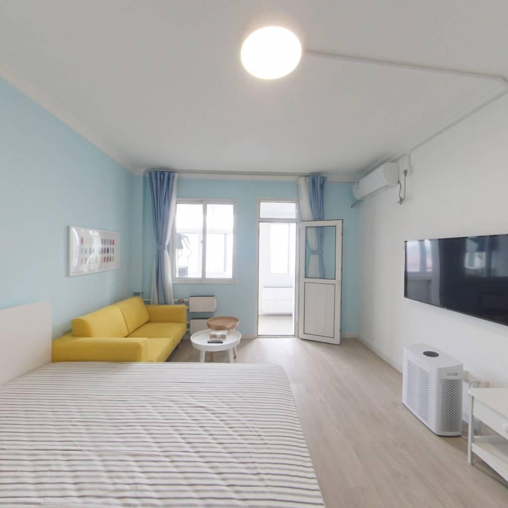 整租·青年公寓 1室1厅 南卧室图