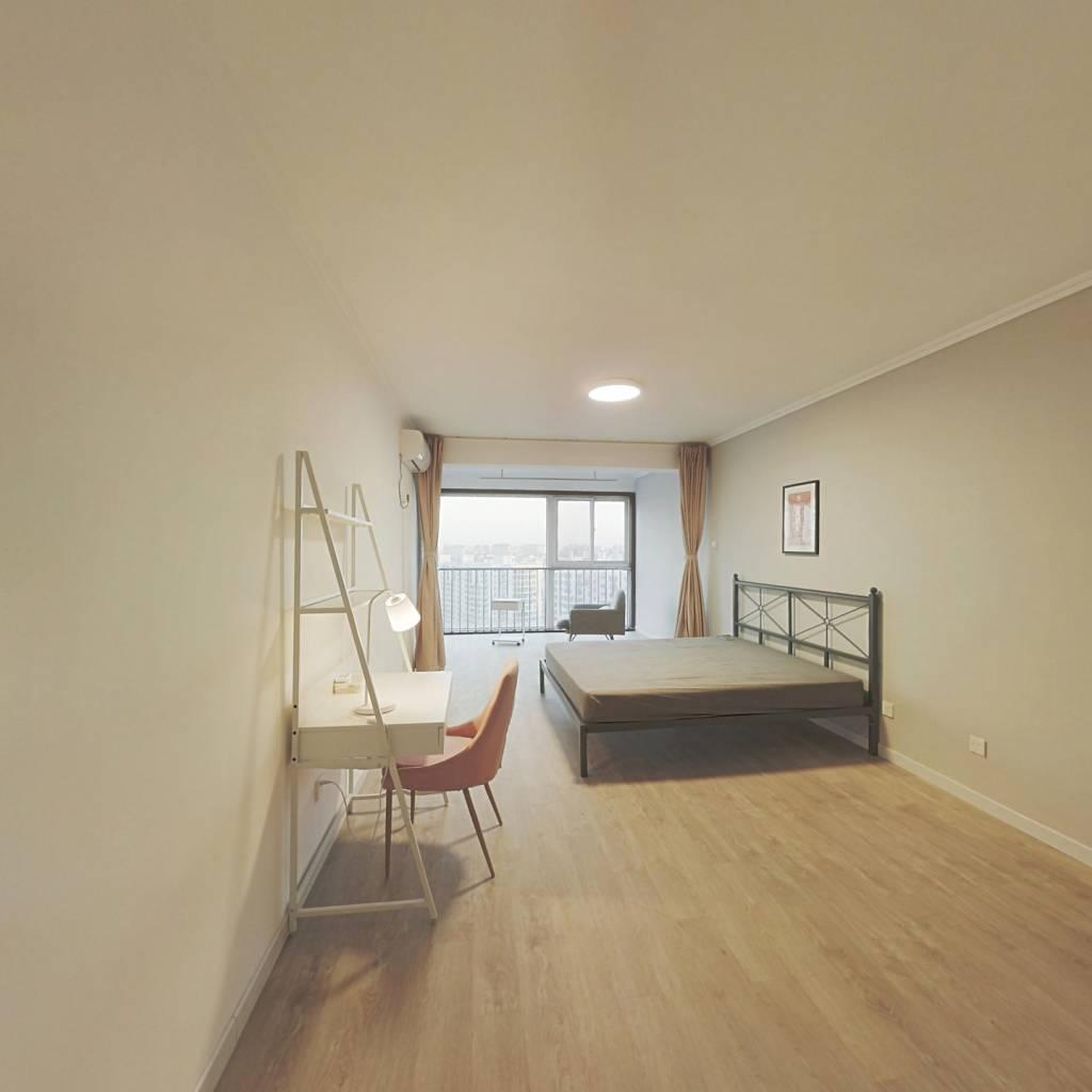 合租·国美第一城2号院 4室1厅 西卧室图