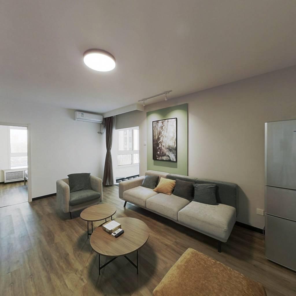 整租·嘉润花园 2室1厅 东南卧室图