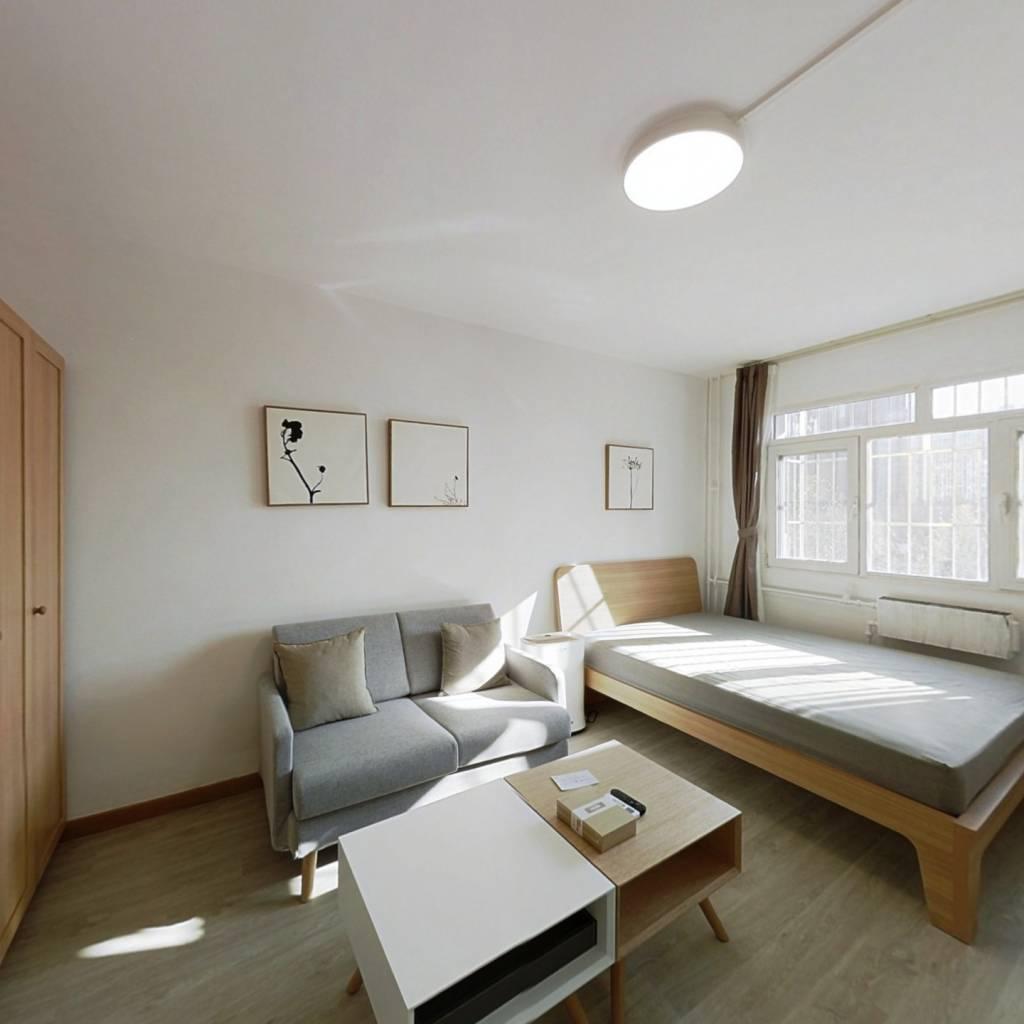 整租·芍药居 1室1厅 南卧室图