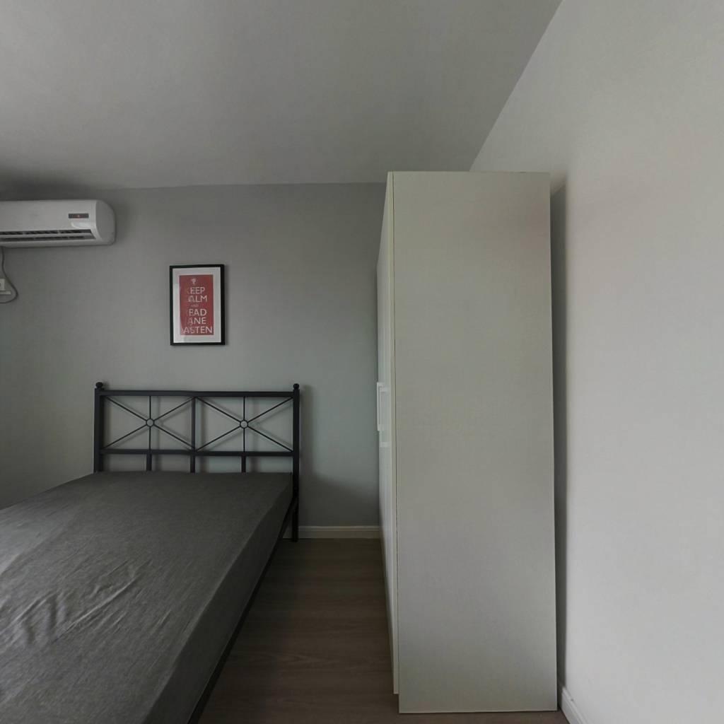 合租·大三小区 3室1厅 南卧室图