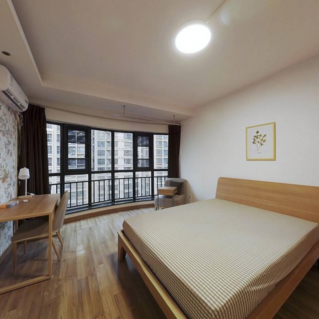 合租·华立新华时代 4室1厅 南卧室图