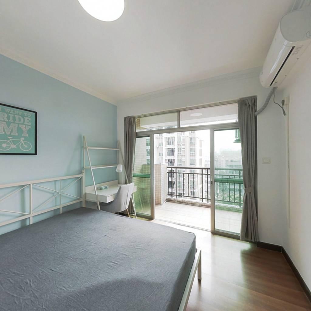 合租·祥景花园雍翠园 3室1厅 南卧室图