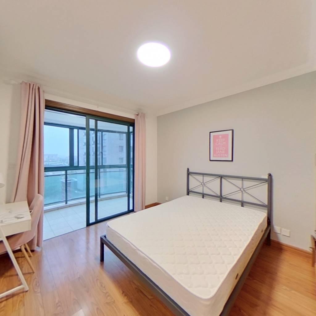 合租·河风丽景 3室1厅 南卧室图