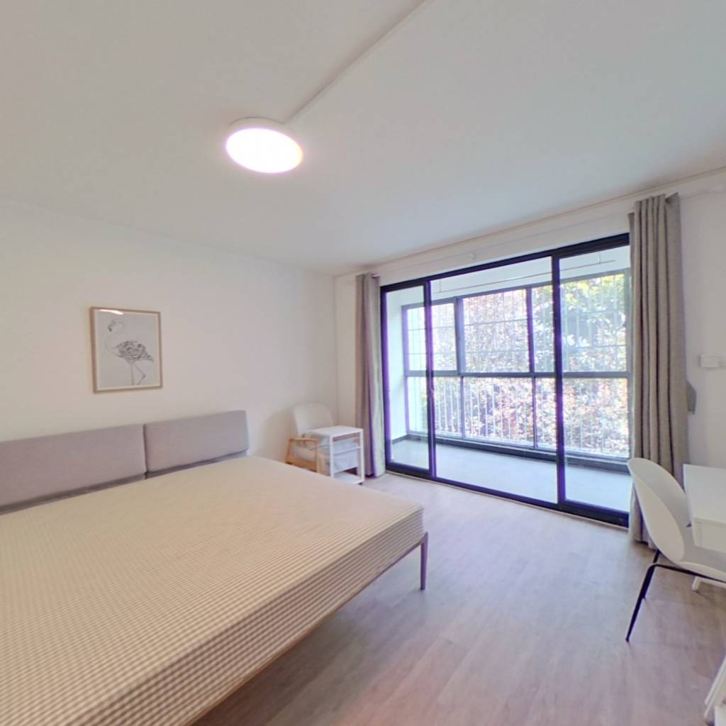 合租·日月华城 4室1厅 南卧室图