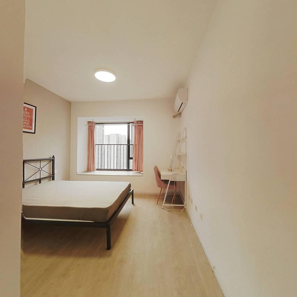 合租·龙湖金楠天街 4室1厅 西北卧室图