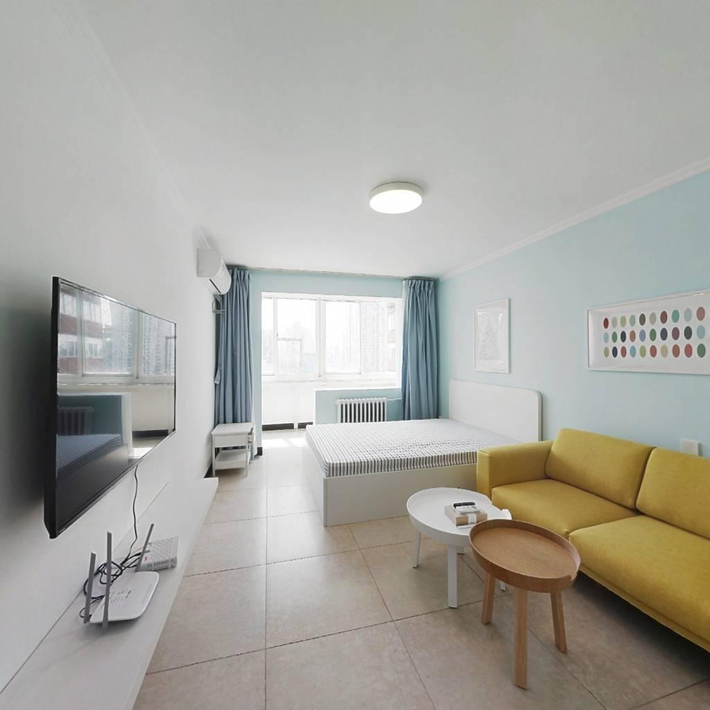 整租·芳星园三区 2室1厅 南北卧室图