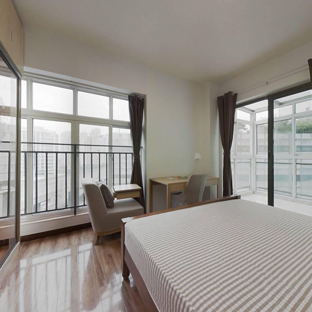 合租·财富又一城 4室1厅 西卧室图