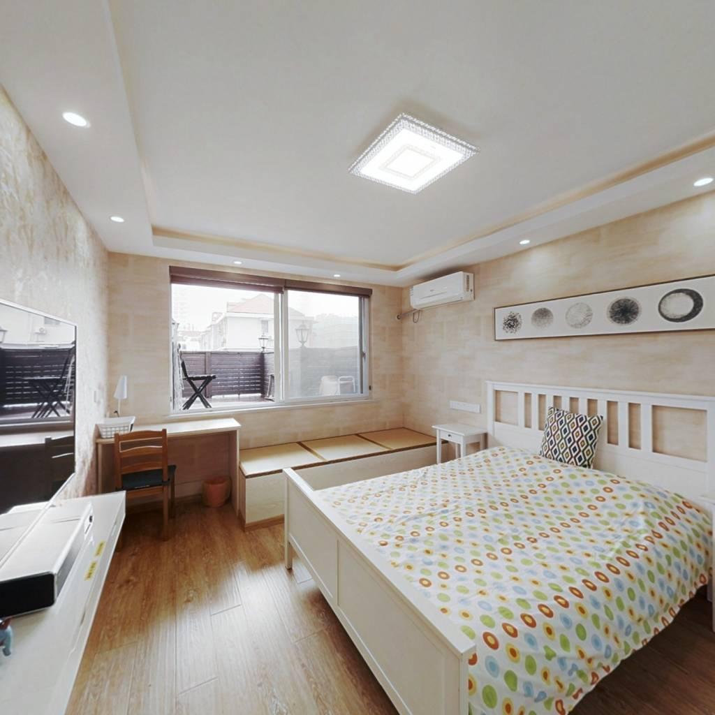 4/8号线西藏南路, 西凌家宅精装+电梯2房带独用大露台