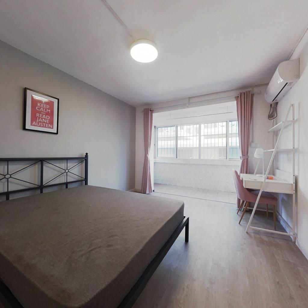 合租·航华二村嘉丰公寓 3室1厅 北卧室图